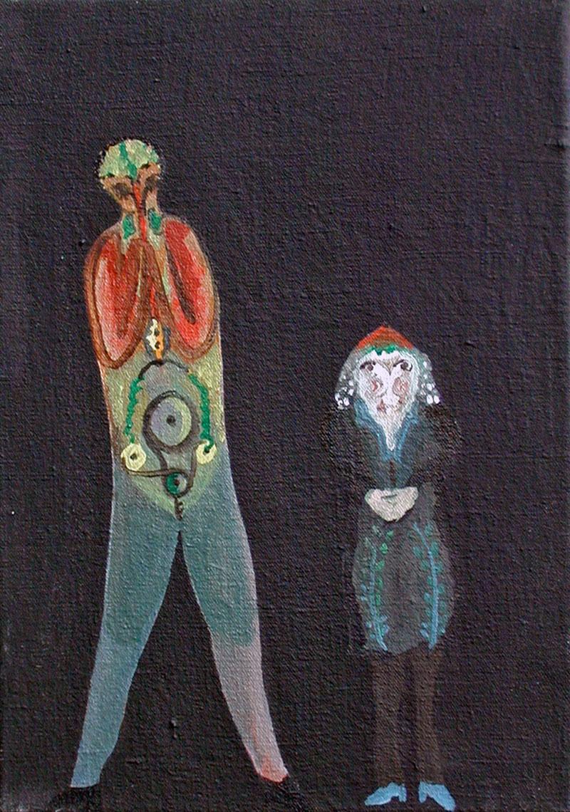 Petites figures - 19 x 27 - 2001-02