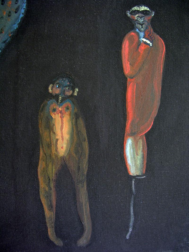 Figures - 46 x 38 – détail – 2000-01